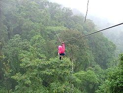 I want to go zip lining. I always loved the flying fox as a child. There is a list of places to do it on the link provided.