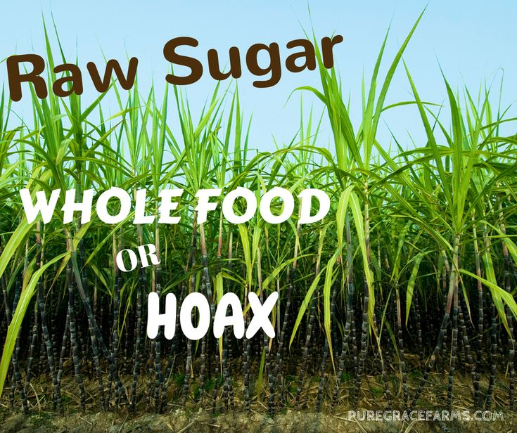 Raw Sugar: Whole Food or Hoax? What is raw sugar and how is it processed? Is it considered a whole food? Come by and find out.