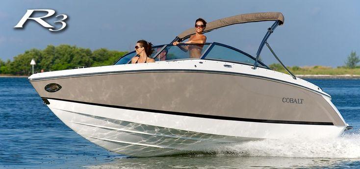 Cobalt Boats - R3 Bowrider #cobaltboatsluxury