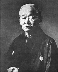 Jigorõ Kanõ Fondateur du judo ... https://fr.m.wikipedia.org/wiki/Jigorō_Kanō