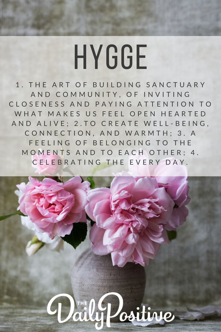 """Hygge is defined as:""""a quality of coziness & comfortable conviviality that engenders a feeling of contentment or well-being."""" Here's how you can embrace it."""