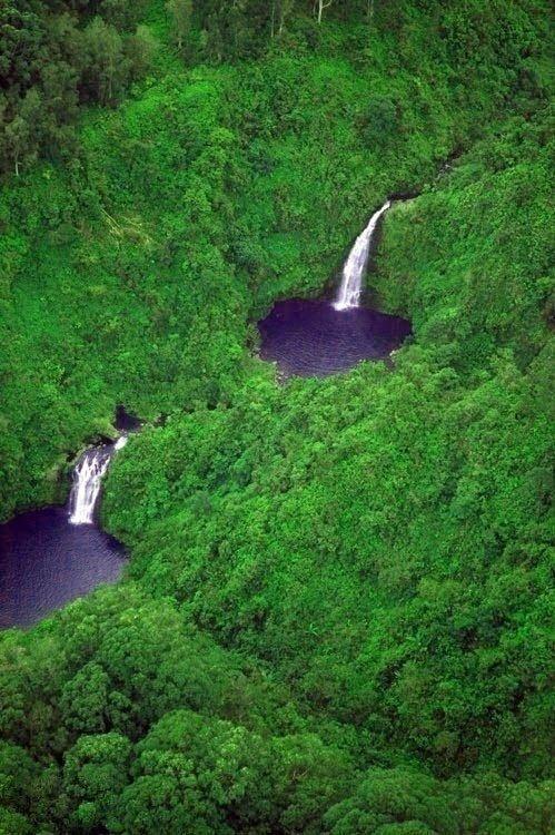 Водопад Хонокохау в Мауи, Гавайи - Путешествуем вместе