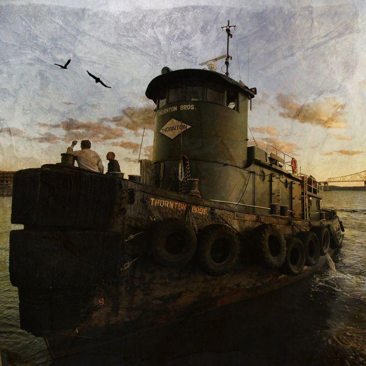 55 Best Tug Boat Images On Pinterest