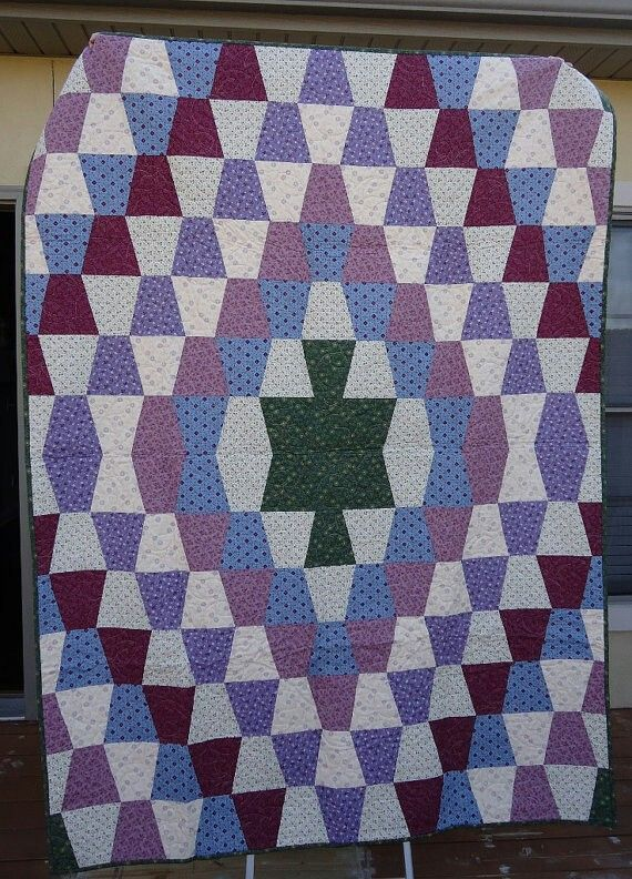 The 25+ best ideas about Tumbler Quilt on Pinterest Missouri quilt, Quilt patterns and Baby ...