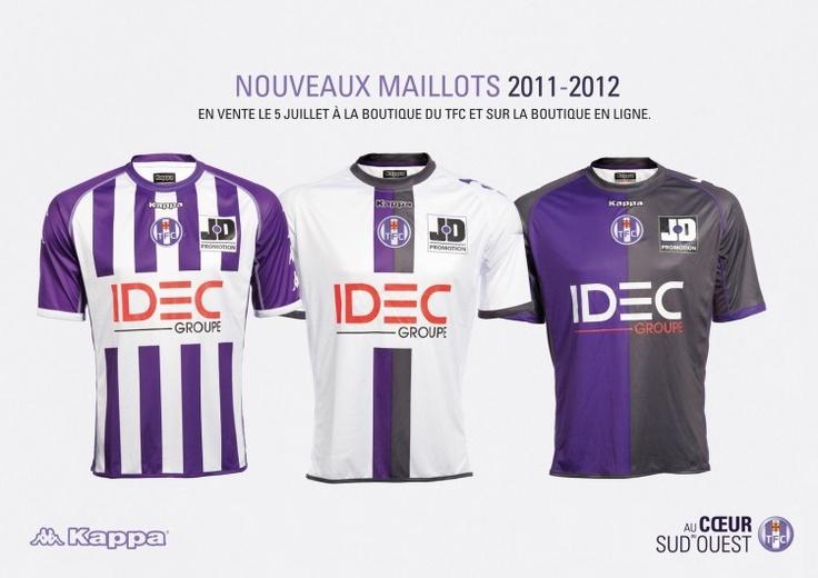 Maillots 11/12 Mon maillot au à Biarritz.