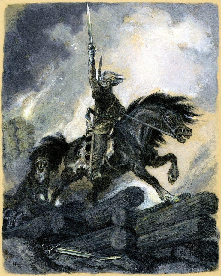 Another illustration from the Kalevala by Nicolai Kochergin #eidolon #SWoM