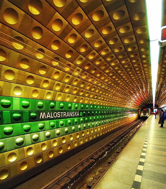 Malostranska metro, Prague, Czech Republic by Edgar Barany