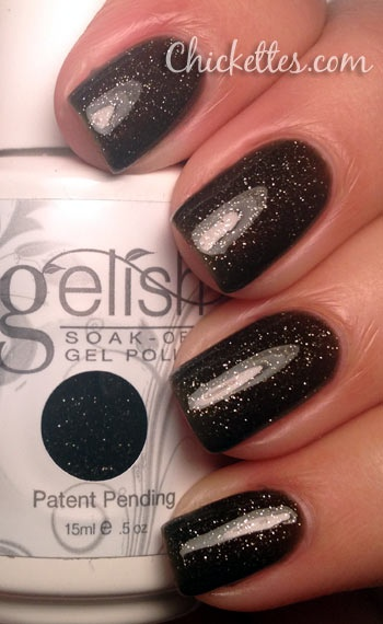 Gelish Holiday Collection The Naughty List Swatch. Gelish products available at www.esthersnc.com