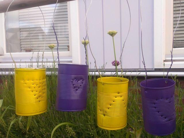Resultaat DIY Tuinlantaarn. Je maakt ze zo: http://www.tuinen.nl/artikel/4083/