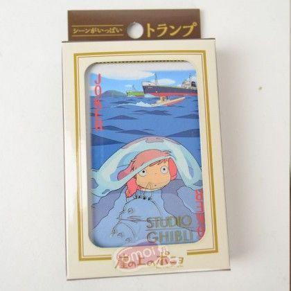 Studio Ghibli: Ponyo on the Cliff by the Sea Playing cards