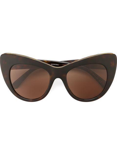 Stella McCartney солнцезащитные очки в оправе 'кошачий глаз'