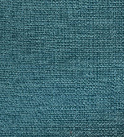 """""""Copenhagen, Teal"""" 54"""" wide 100% Polyester  $13.95   per yard   A classic, durable, slubbed weave upholstery grade fabric in a rich turquoise teal blue made of 100% polyester. Suitable for all upholstery projects, pillows, cushions, window treatments and other home decor projects"""