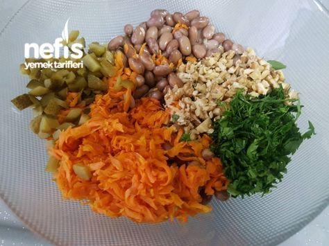 Yedikçe Yedirten Barbunya Salatası