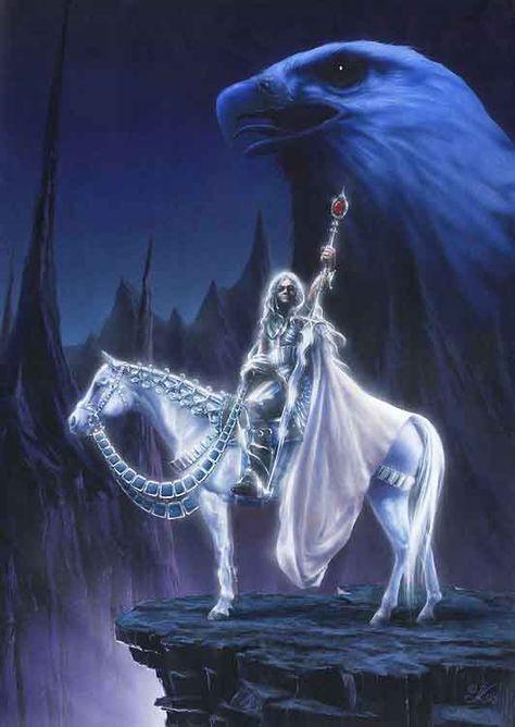 Oromë - The Huntsman of the Valar. - Google Search