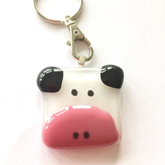 Hey, I found this really awesome Etsy listing at https://www.etsy.com/uk/listing/514370706/cow-keyring-animal-key-ring-cow-gift