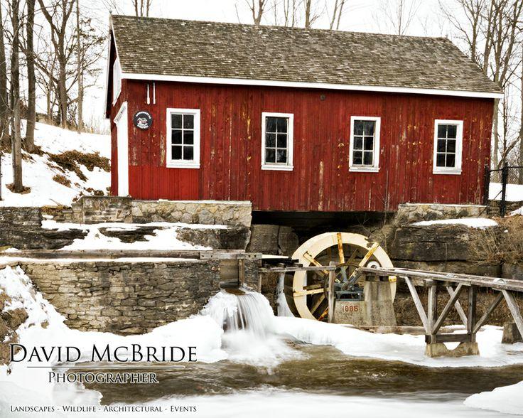 Morningstar Mill's Sawmill - St. Catharines, Ontario