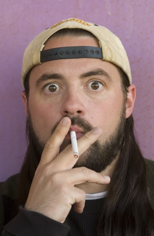 Kevin Smith (American comedy & satire director: Clerks [1994], Mallrats [1995], Chasing Amy [1997], Dogma [1999], Jay & Silent Bob Strike Back [2001])
