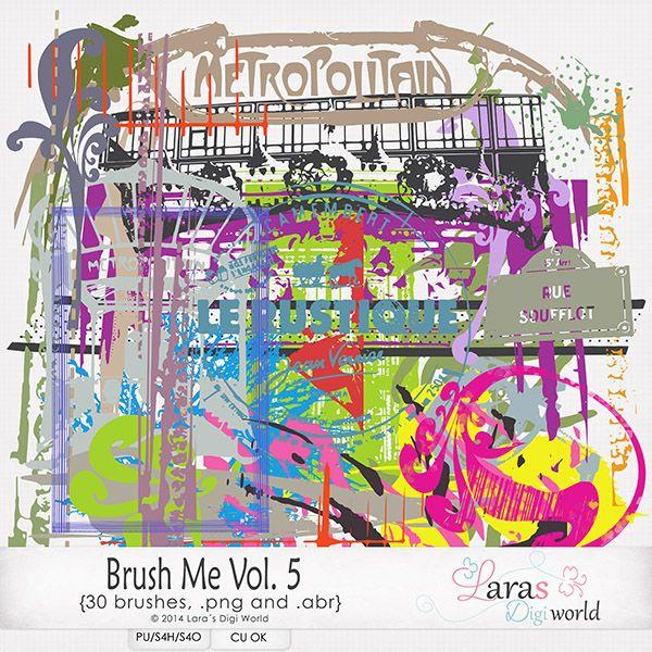 Brush Me Vol. 5 by Laras Digi World