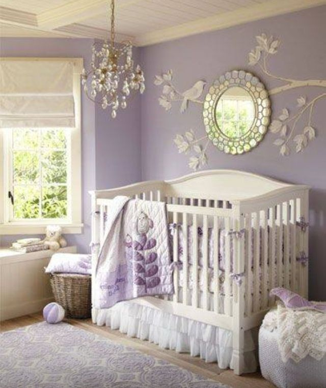 If God were to bless us with a baby girl....I'd love her room to look like this!