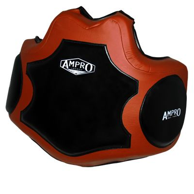 Ampro Heritage Body Protector - Brown/Black £140.00