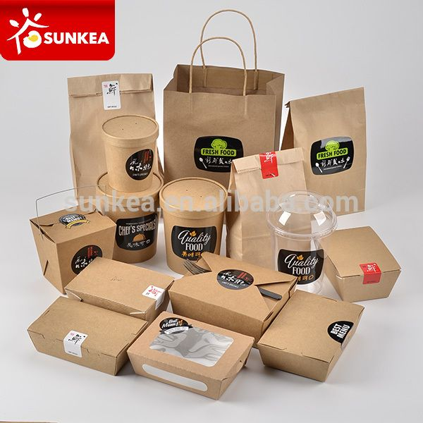 Source Disposable Custom Printed Kraft Lunch Food Paper Box For Food On M Alibaba Com Diseno De Envases Para Alimentos Envase Para Alimentos Envasado