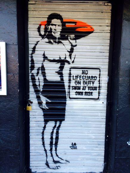 La Staa - shoreditch street art - 21.06.14   HPMcQ
