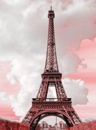 Pink Colorized Eiffel Tower . . . pretty: Paris Je, Douc France, Paris Vintage, Buckets Lists, Things French, Eiffel Towers, Pink Paris, In Love In Paris, Colors Eiffel