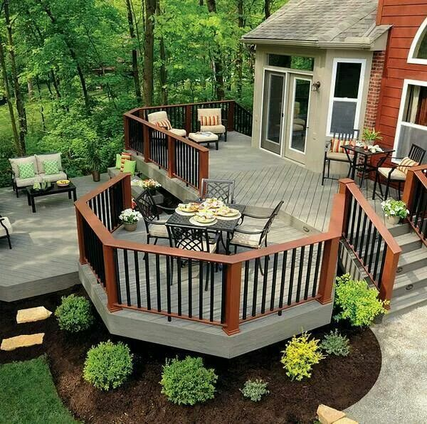 Make the most of a small patio ideas with these stylish design. #PatioIdeas #Balcony #Porch