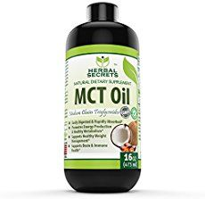 MCT Oil Benefits & Side Effects   -