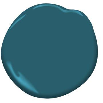 Base Cabinets   Bermuda Turquoise 728  | Benjamin Moore