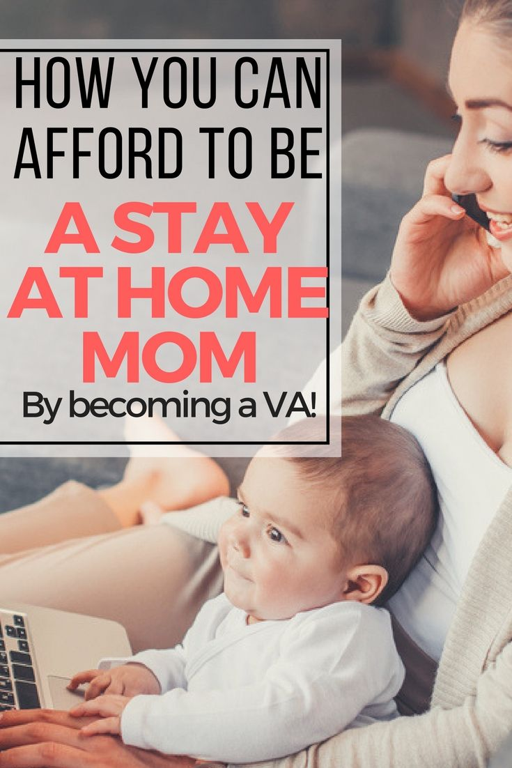 how to afford to be a stay at home mom, become a VA, how to be a virtual assistant