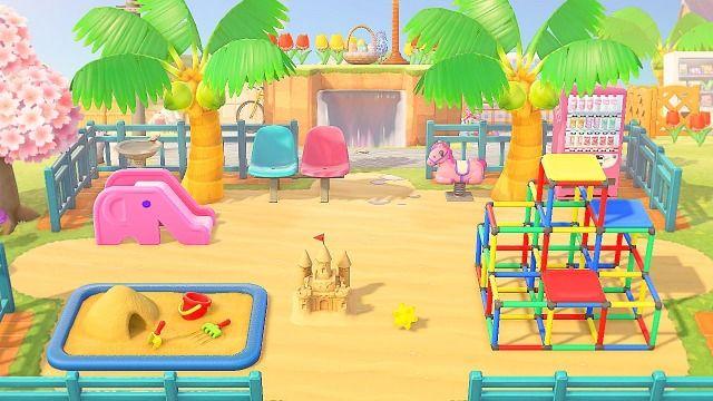Playground In 2020 Animal Crossing Wild World Animal Crossing Animal Crossing 3ds