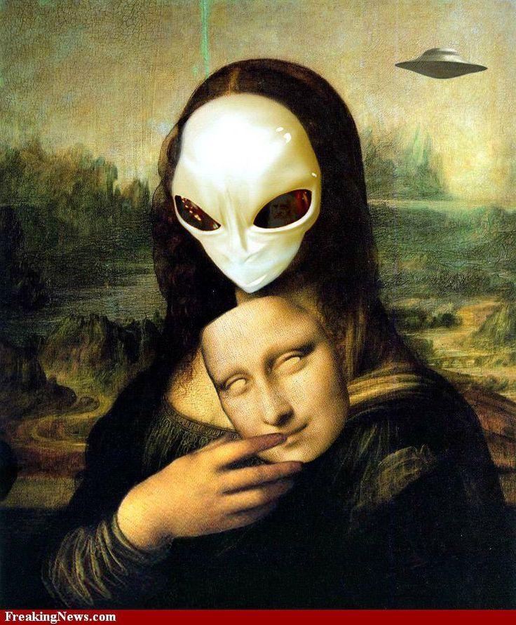 extraterrestre na mona lisa