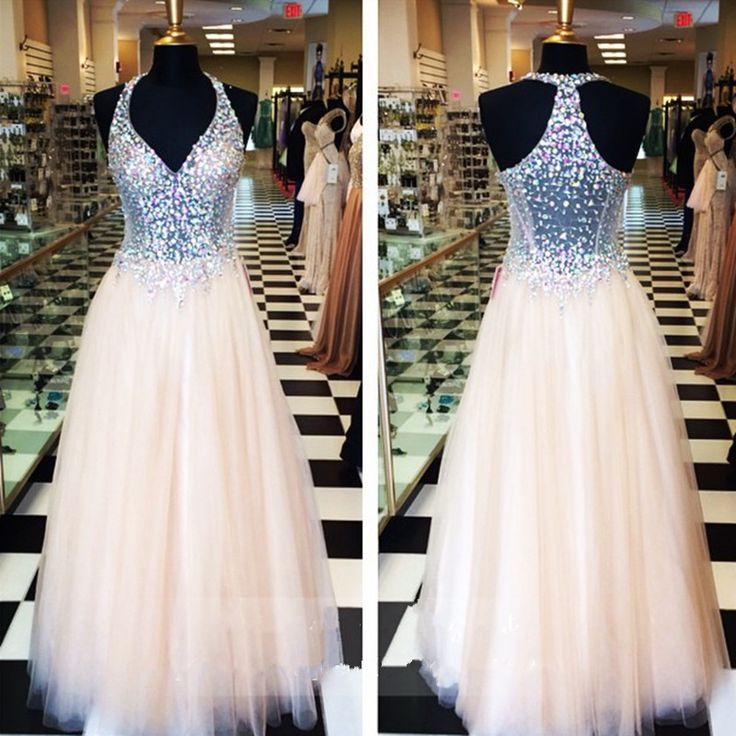 Champagne Prom Dresses,A-Line Prom Dress,Prom Dress,Simple Prom Dress,Tulle Prom Dress,Simple Evening Gowns,Cheap Party Dress,Elegant Prom Dresses,Formal Gowns For Teens