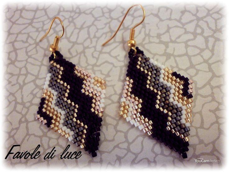 Brick Stitch Earrings Earring Patterns Brick Stitch