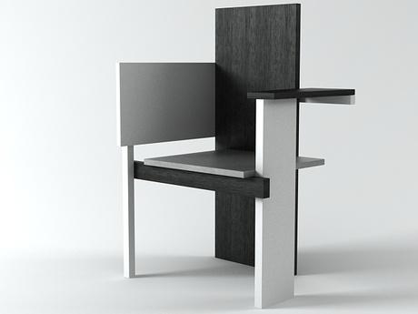 Gerrit Thomas Rietveld  Berlin Chair  Rietveld by Rietveld, Netherlands