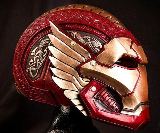 Asgardian Iron Man by Prince Armory
