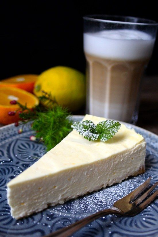 Käsekuchen aus Schmand