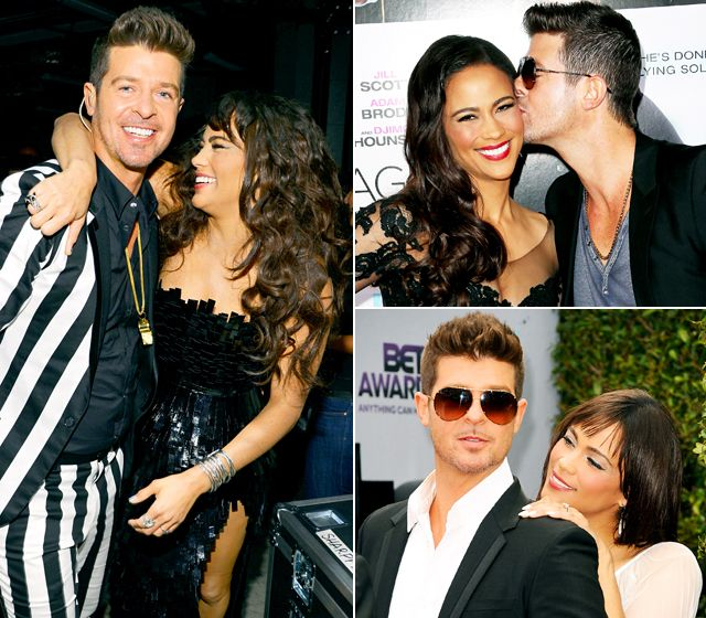 Robin Thicke and Paula Patton's Most Romantic Moments
