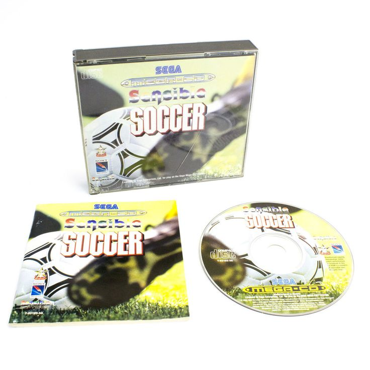 Sensible Soccer for the Sega Mega CD, CIB - PAL