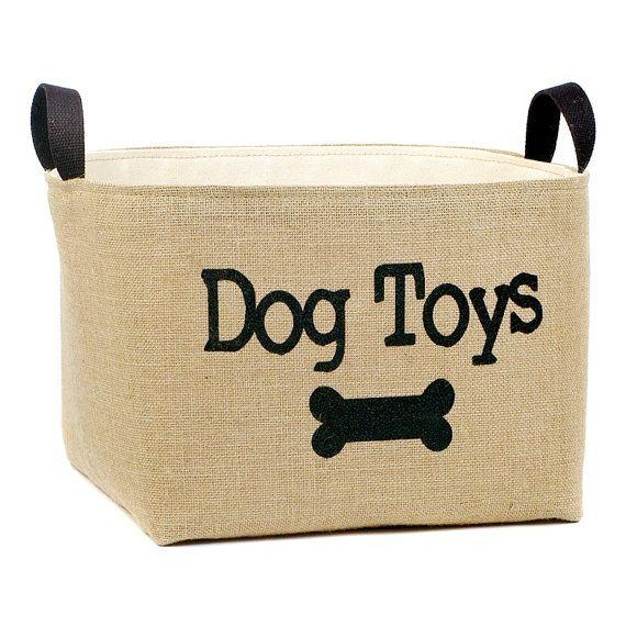 Hund Spielzeug Lagerplatz Jute  Stoff von asouthernbucket auf Etsy