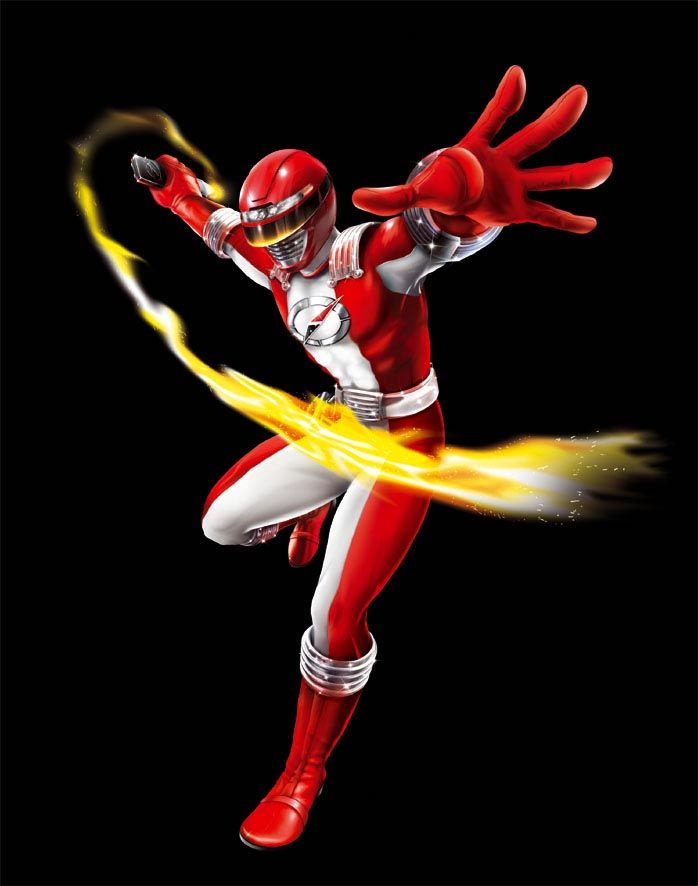 POWER RANGERS OPERATION OVERDRIVE - RED RANGER by DXPRO