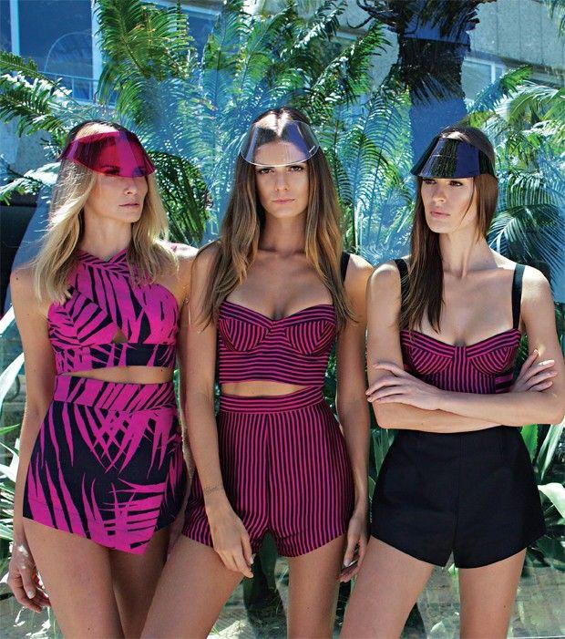 Osklen Praia por A&B, pronta para entrar na passarela de verão 2015 do Fashion Rio http://osklen.com/