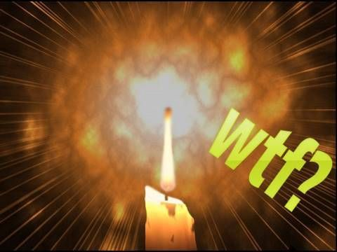 Scientific Tuesdays: Candle Wax Explosion
