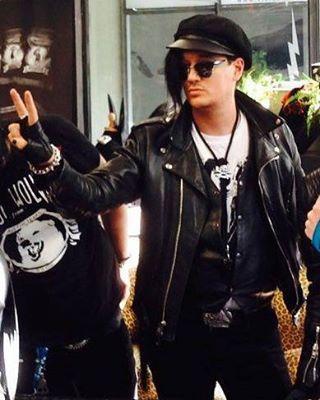 The 69 eyes. Berlin,Wonderland 13 Shop.Autograph Session April 30,2016 #the69eyes #jyrki69 #berlin #autographsession #helsinkivampires #gothnroll #rocker #rockstar #universalmonsters #rockmusic #singer #gothicrock #gothic @jyrki69