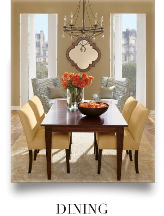 Ethan Allen Modern Dining Room. This Is Our Christopher Dining Table, One  Of Our