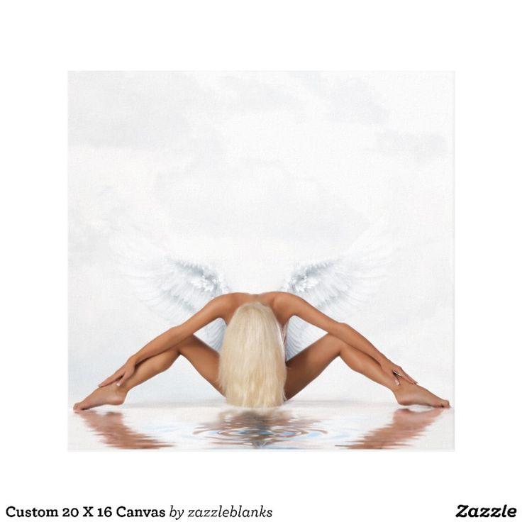 Custom 20 X 16 Canvas | Angel