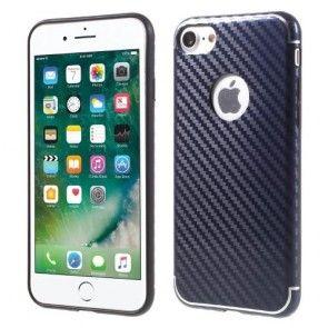 Husa IPhone 7, TPU, Protectie Spate, ISMILE, Dark Blue