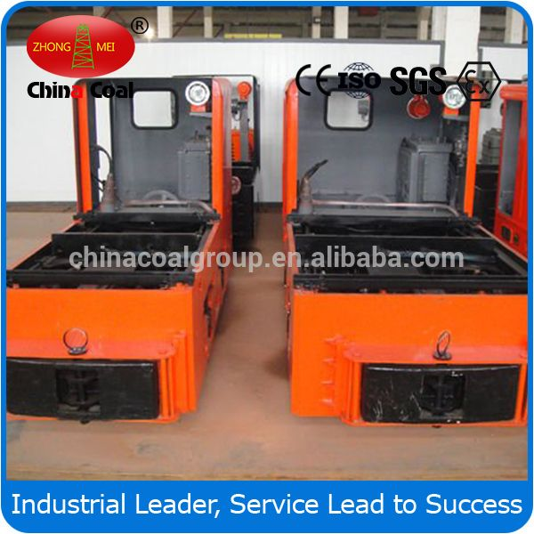 China Coal 25 Tonner Trolley Electric Locomotive For Underground Mine Price