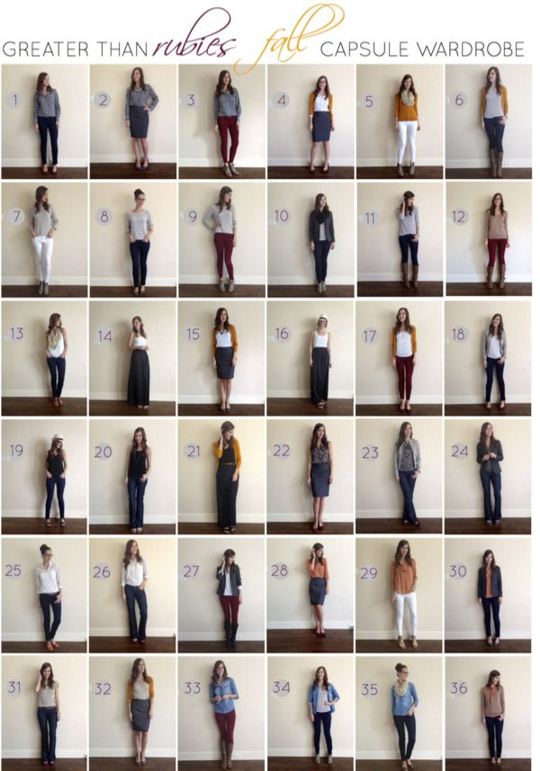 333 Challenge Capsule Wardrobe Fall | Fall Capsule Wardrobe: Recap | Greater Than Rubies
